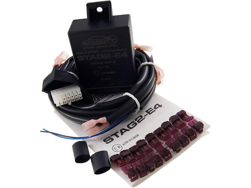 stag 2-e4 эмулятор форсунок универсальный 4 цил