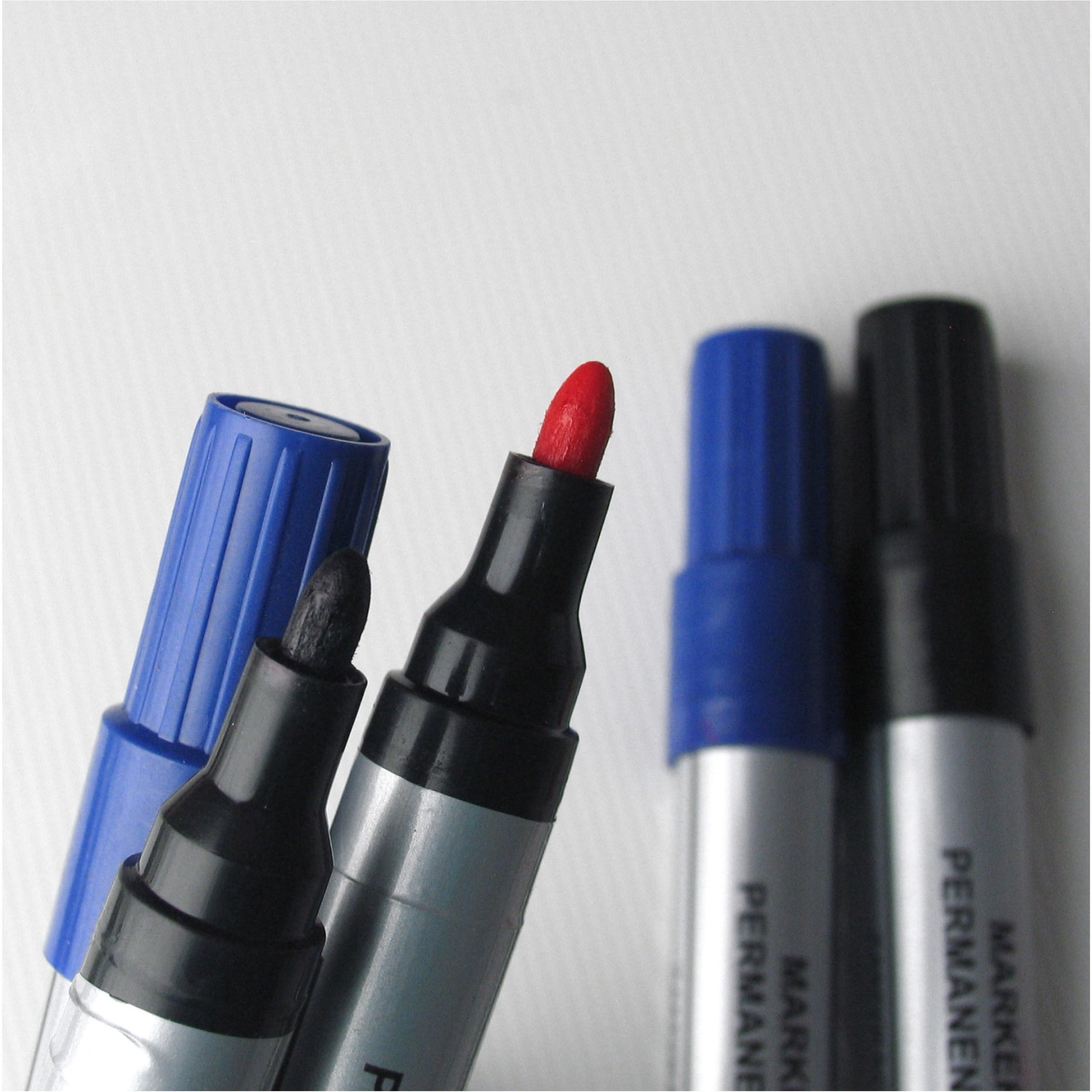 Маркер перманентный макияж круглый Тома-090 черный