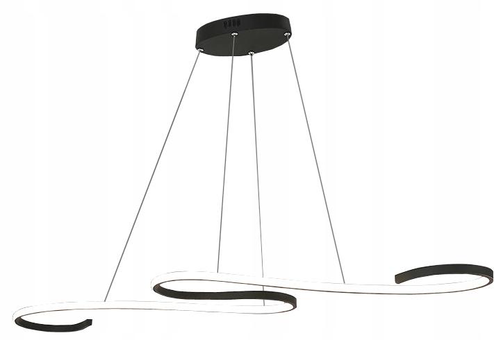 Lampa wisząca nad stół żyrandol Kinkiet LED 106cm