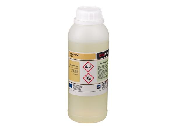 Chlór kvapalina chlóru sodného 500ml biomus