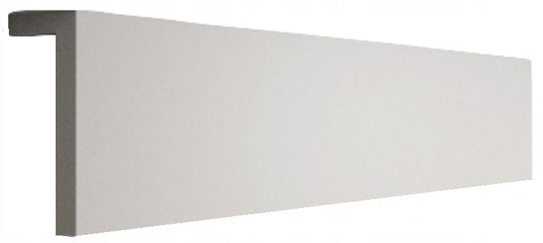 Osłona szyny sufitowej Karnisz L 12x4cm Maskownica