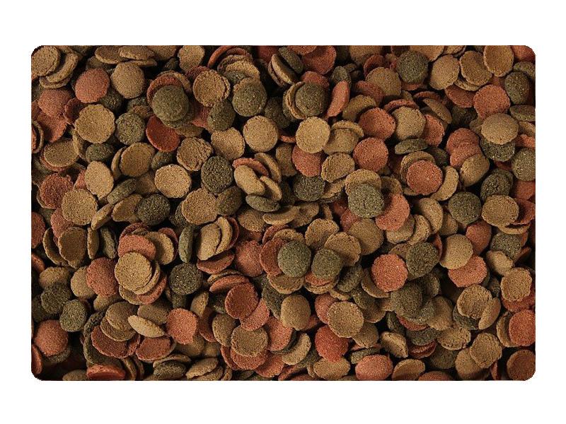 MALÝCH DOŠTIČIEK 2L / 1kg MIXU suché krmivo PRE SPODNEJ RYBY