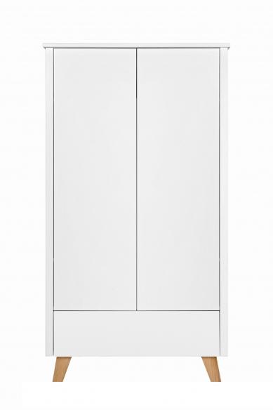 Novelies Zara Szafa 2 drzwiowa młodzieżowa biała
