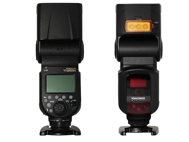 Купить Вспышка YonGnuo YN-968N ЖК-HSS Nikon iTTL YN622N на Otpravka - цены и фото - доставка из Польши и стран Европы в Украину.