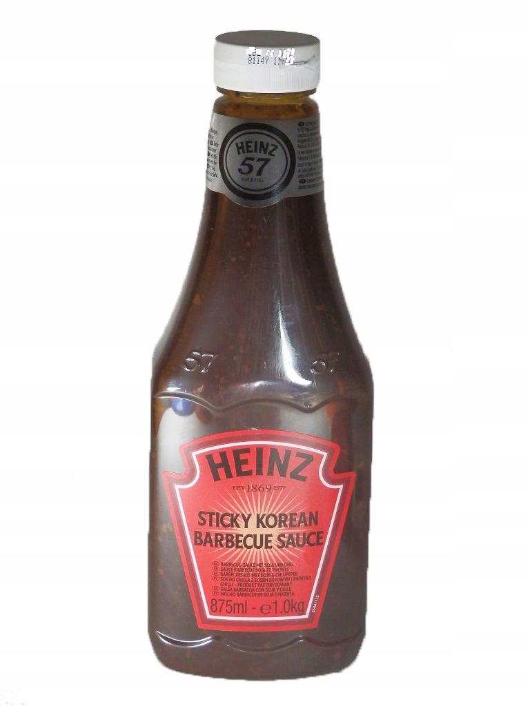 Купить HEINZ соус KOREAN STICKY Barbecue Sauce ГРИЛЬ-40Л на Eurozakup - цены и фото - доставка из Польши и стран Европы в Украину.