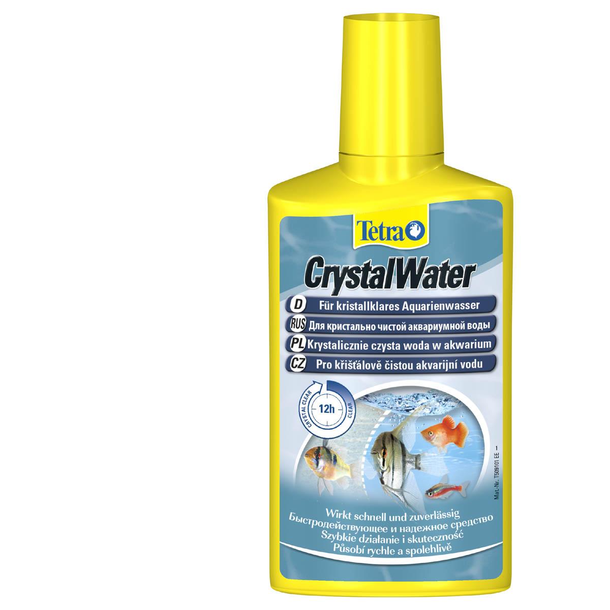 TETRA CRYSTAL WATER отлично осветляет воду 100 мл.