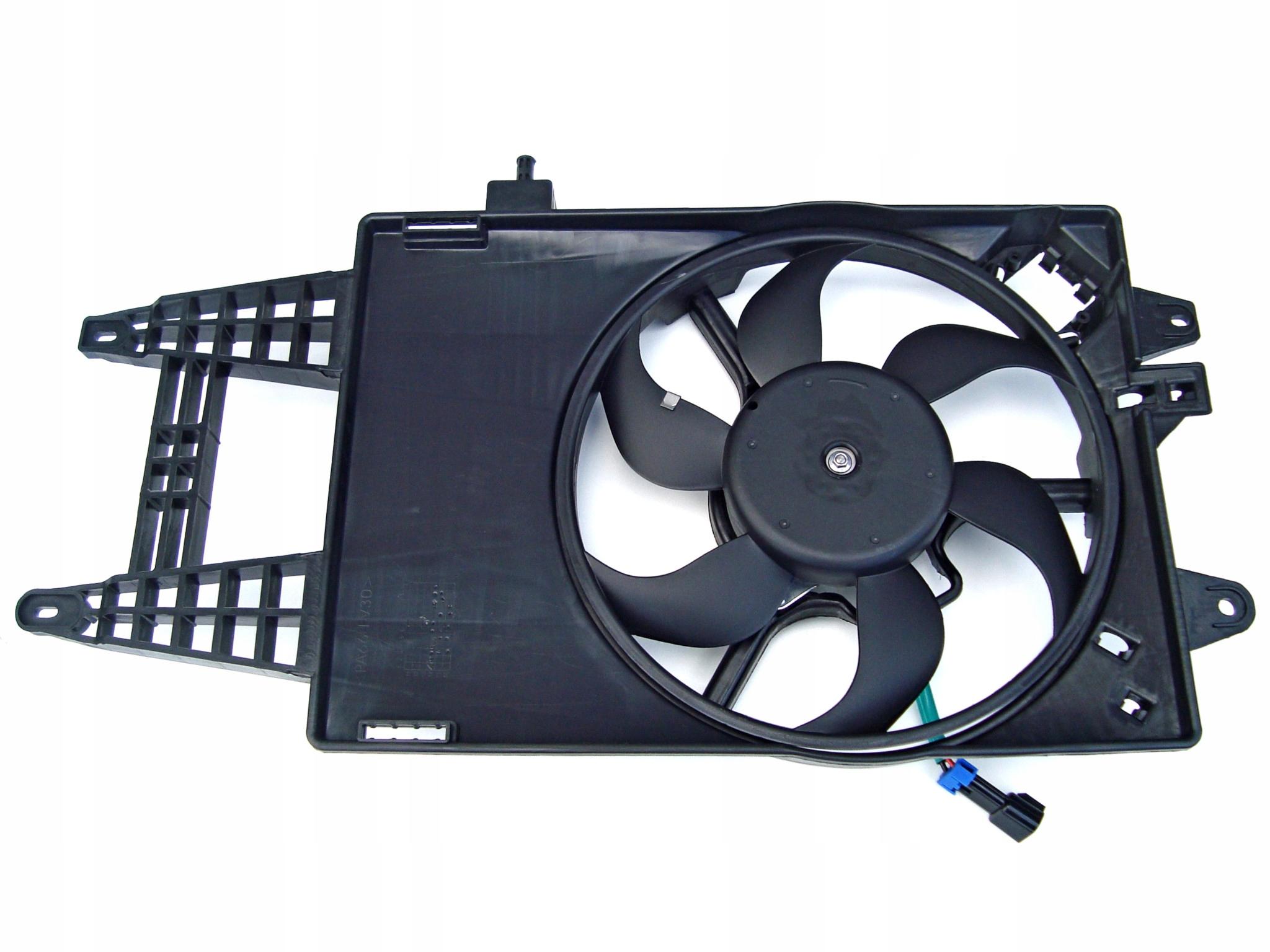 новый вентилятор радиатора punto 2 идея ypsilon