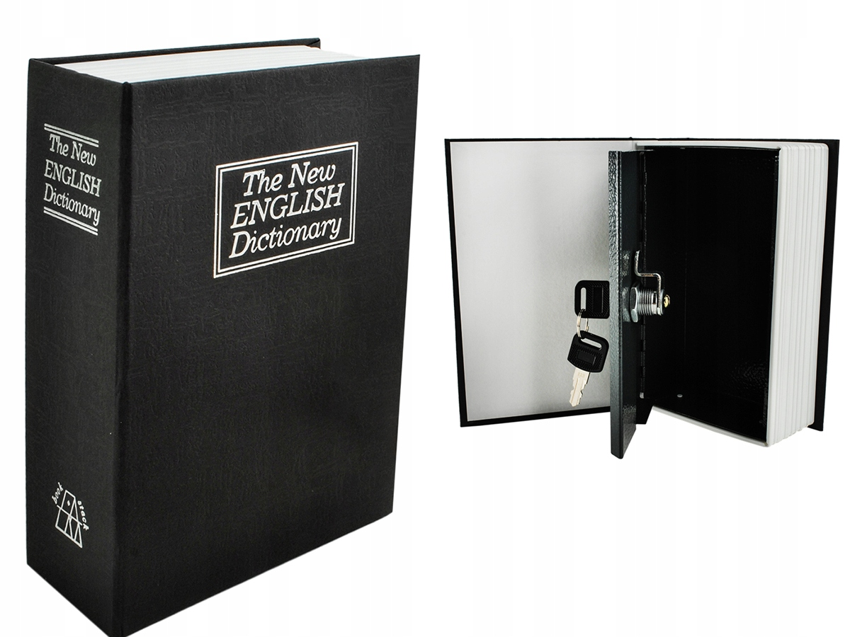 Item Safety Deposit Box Metal Container The Book The Money Keys