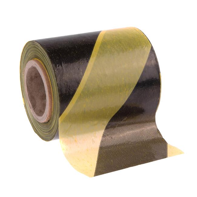 Пленка оградительная желто-черная 80мм/100м