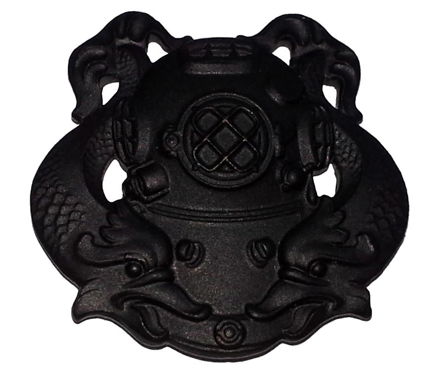 Originálna prvá trieda Diver odznak - nás potápač