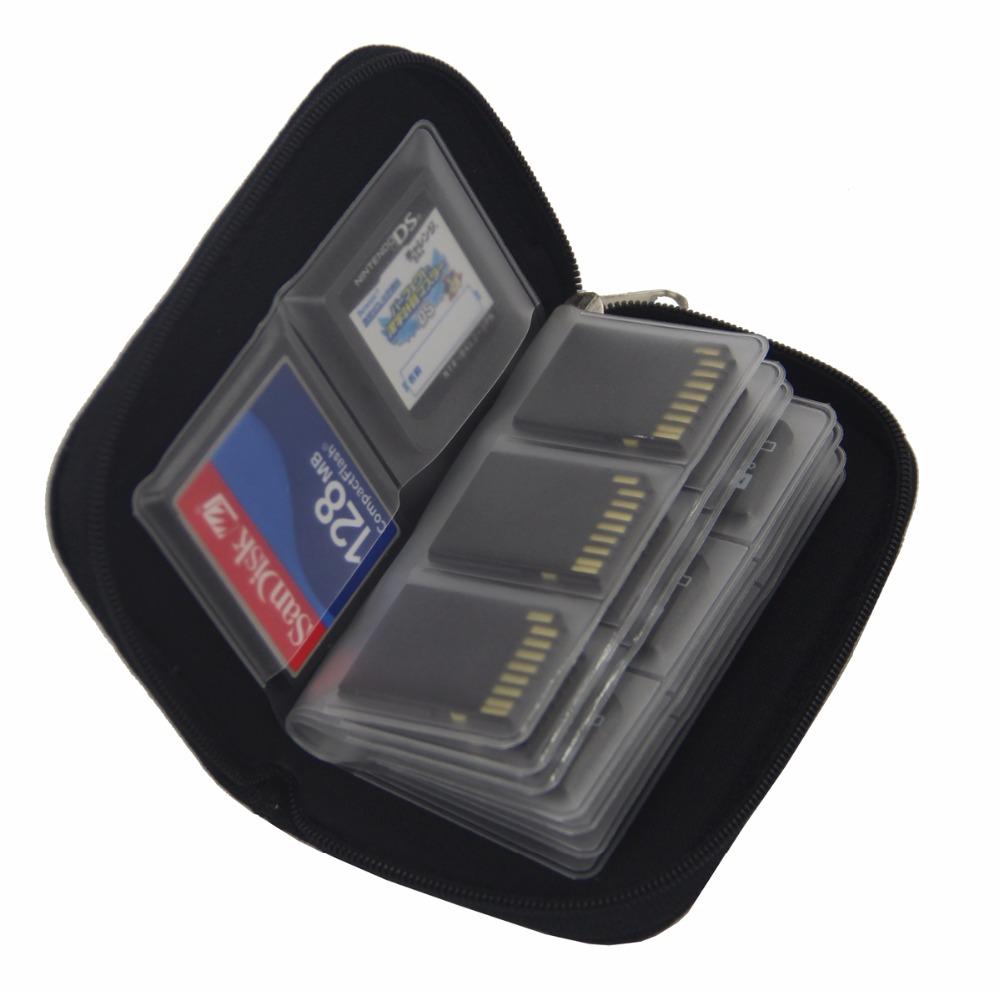 Купить Сумка-органайзер Практичные карты памяти SD CF Micro на Otpravka - цены и фото - доставка из Польши и стран Европы в Украину.