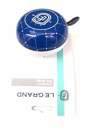 Zvonenie Kross GONG 80mm retro xxl oceľová modrá