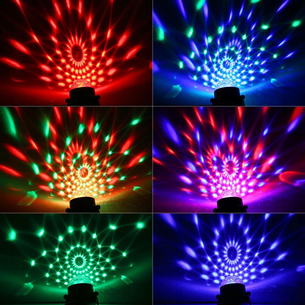 lampy led kolorowe dyskotekowa