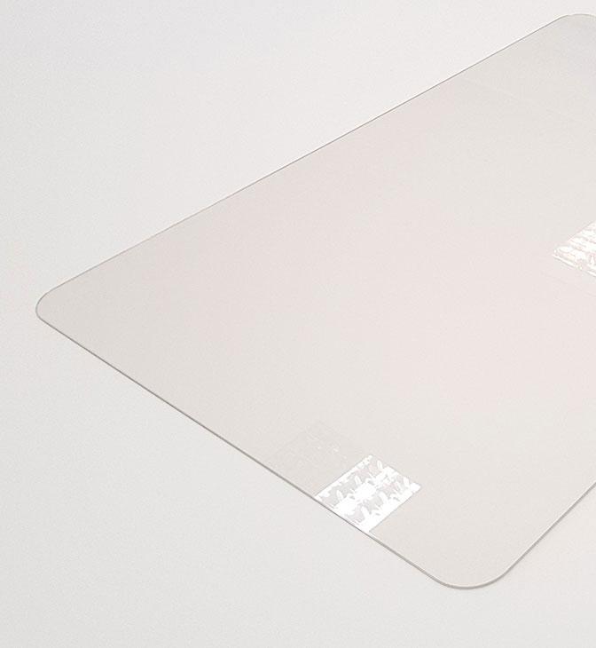 прозрачная коврик подкладка на рабочий стол 70х50 gr1mm