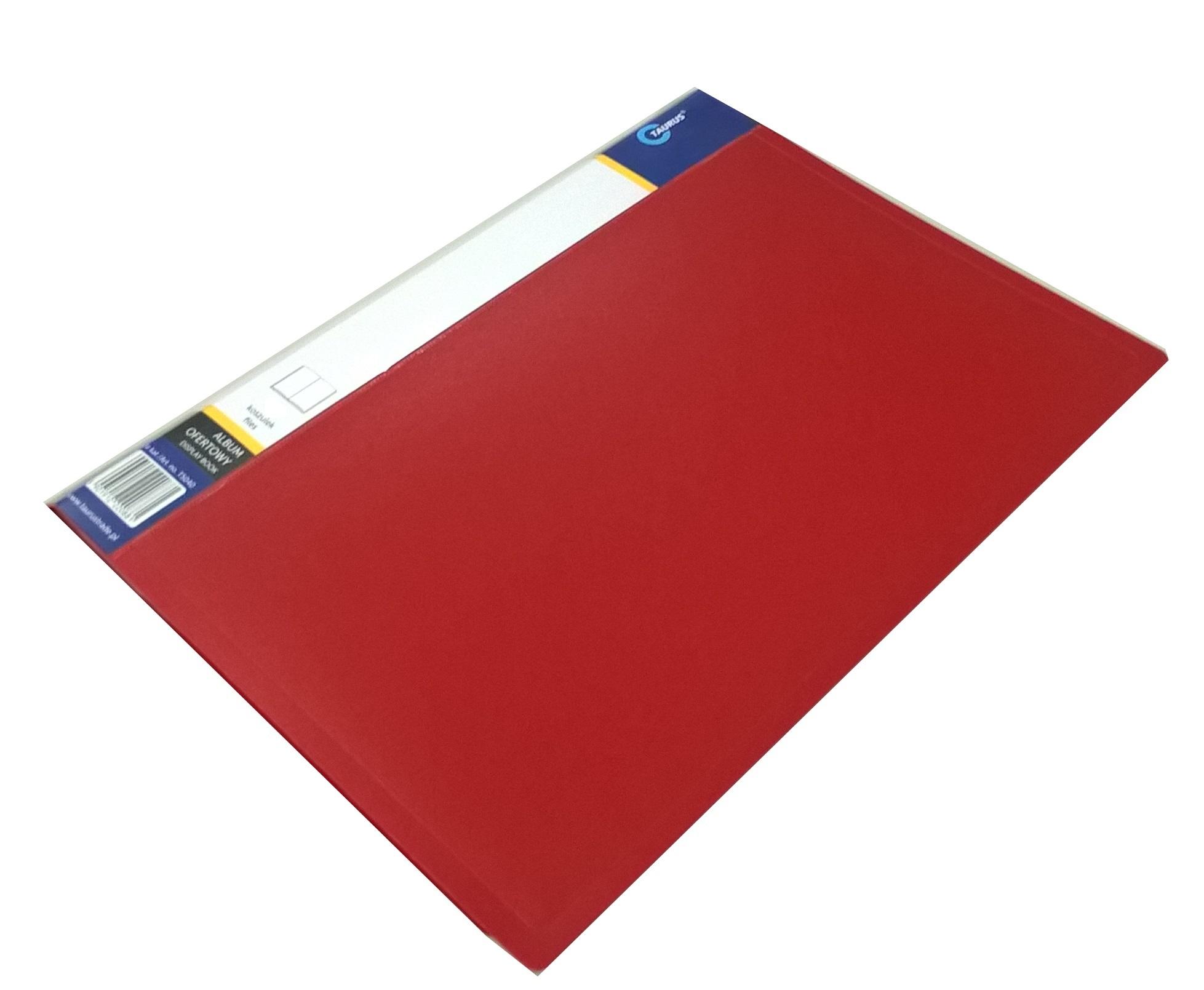 Item FOLDER OFFER ALBUM A4 10 sheets-RED cover