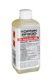 Topnik do lutowania SMD RF-800 NO CLEAN AG 100ml
