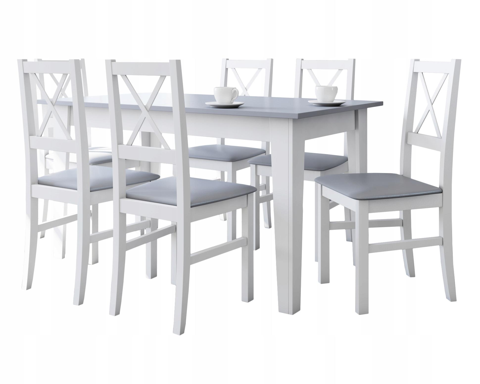 КРАСИВЫЙ комплект для столовой стол + 6 стульев
