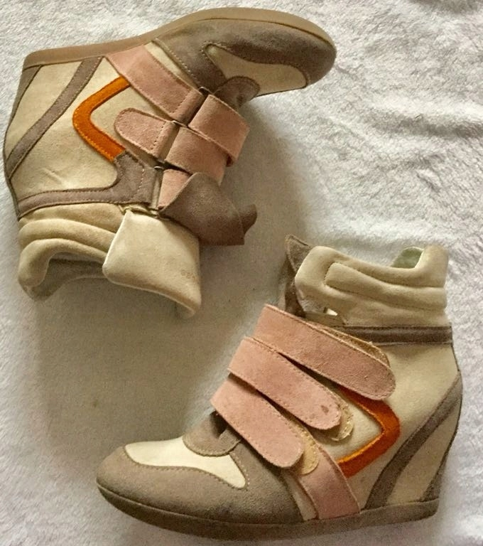 5d07a2d6ddf19 Botki kozaki skora zamsz wojas 37 koturny sneakers - 7552258772 ...