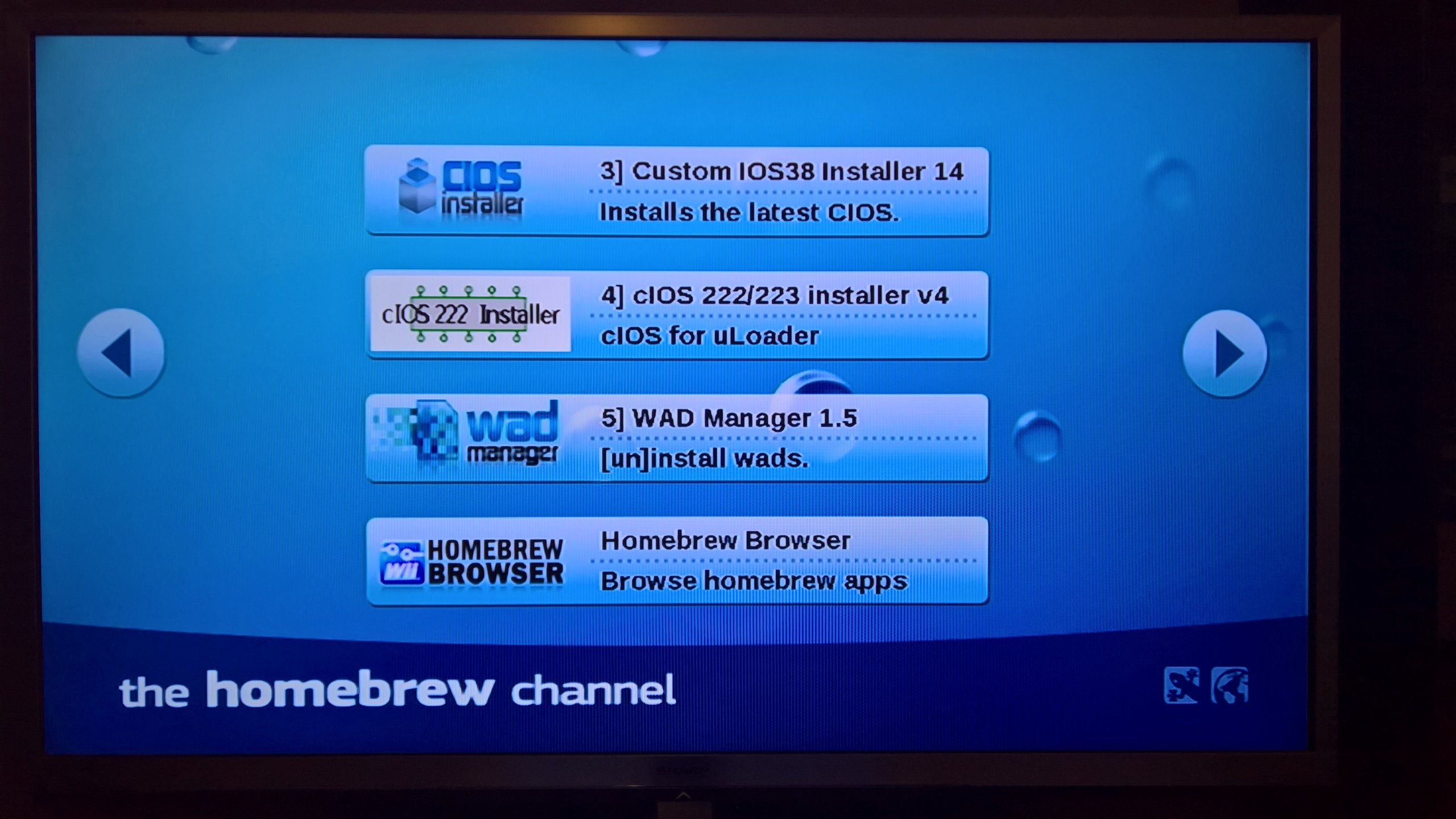Homebrew Browser Wii
