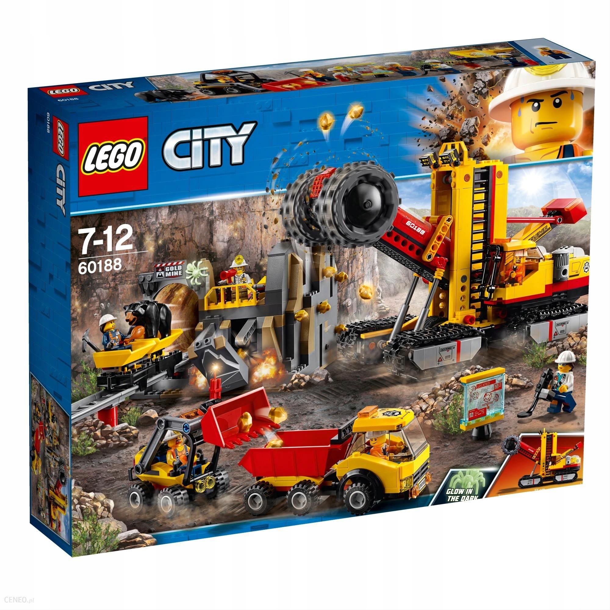 Klocki Lego City 60188 Duży Zestaw Kopalnia 7727023075 Oficjalne