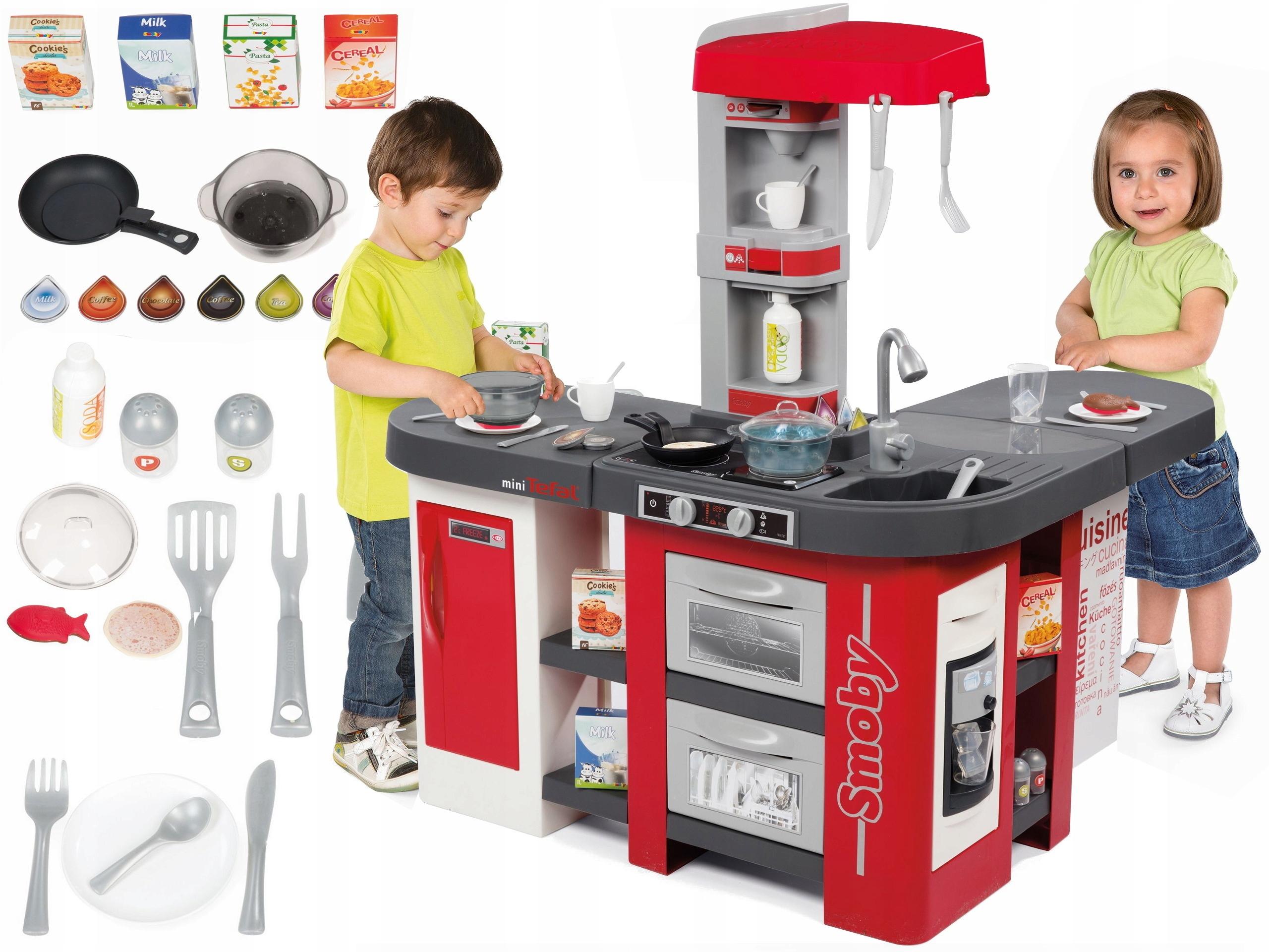 Smoby Kuchnia Dla Dzieci Studio Tefal Bubble Xxl 7362278005