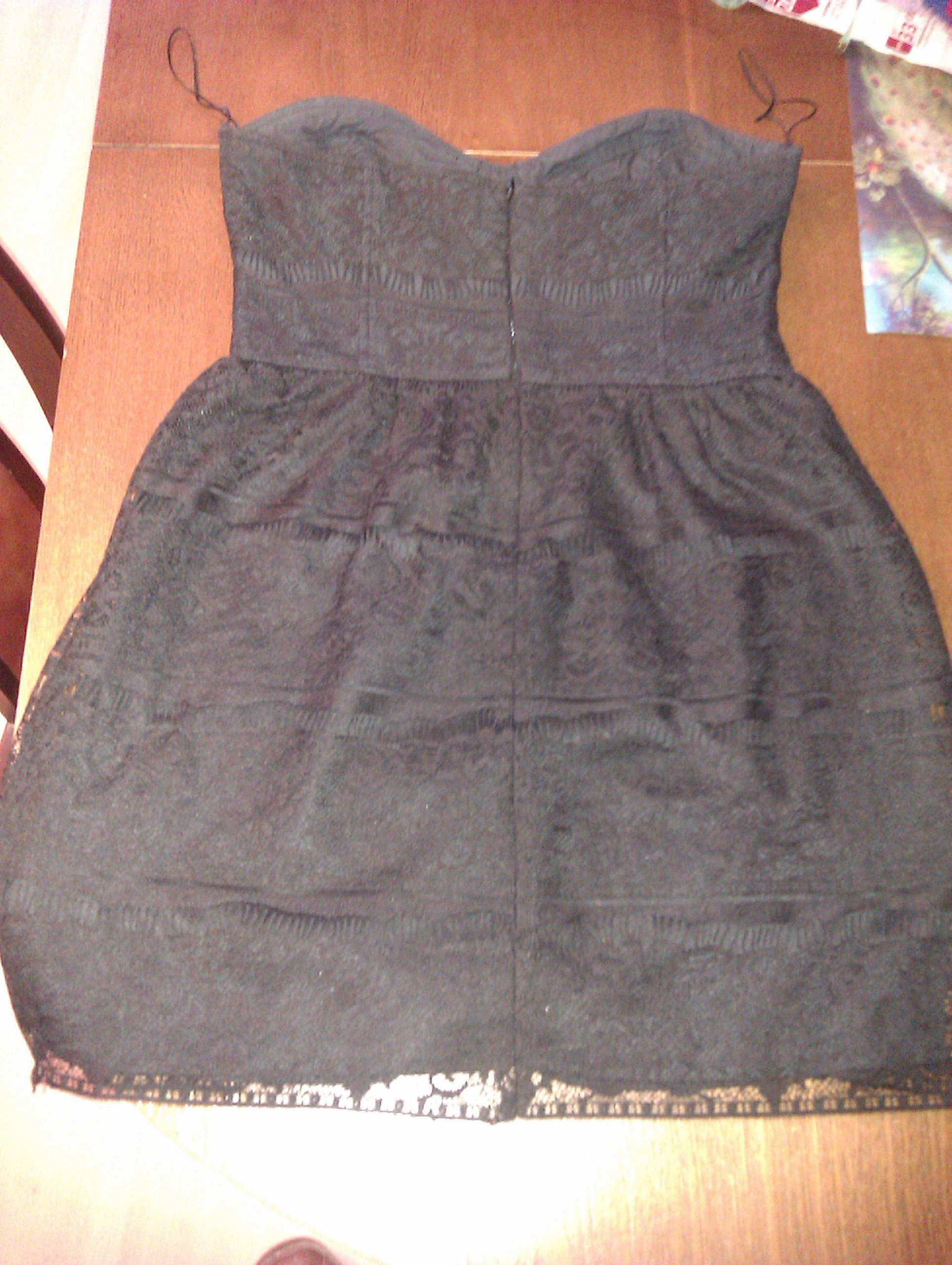 Sukienka bez ramiączek dla dziewczyny rozmiar M 7211085611