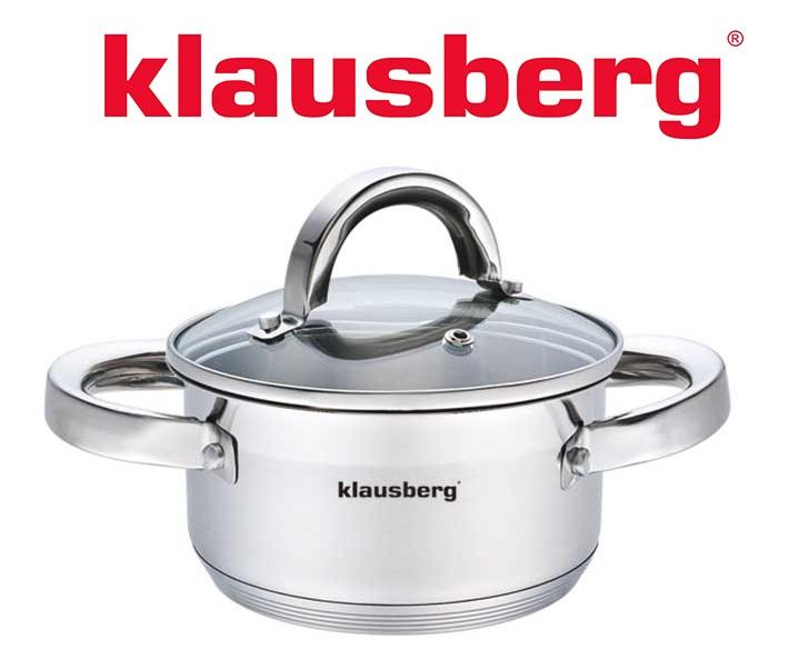 Garnek z pokrywą Klausberg 0,5L