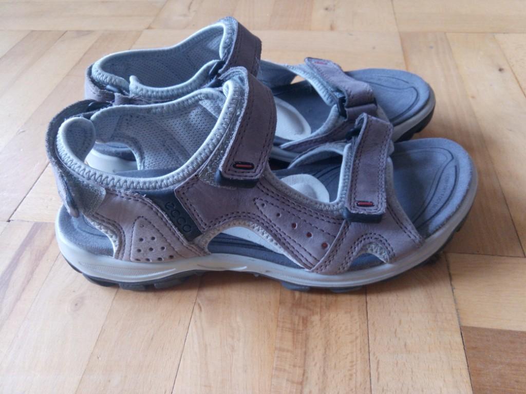 Skórzane sandały Ecco. Stan idealny. Rozmiar 36