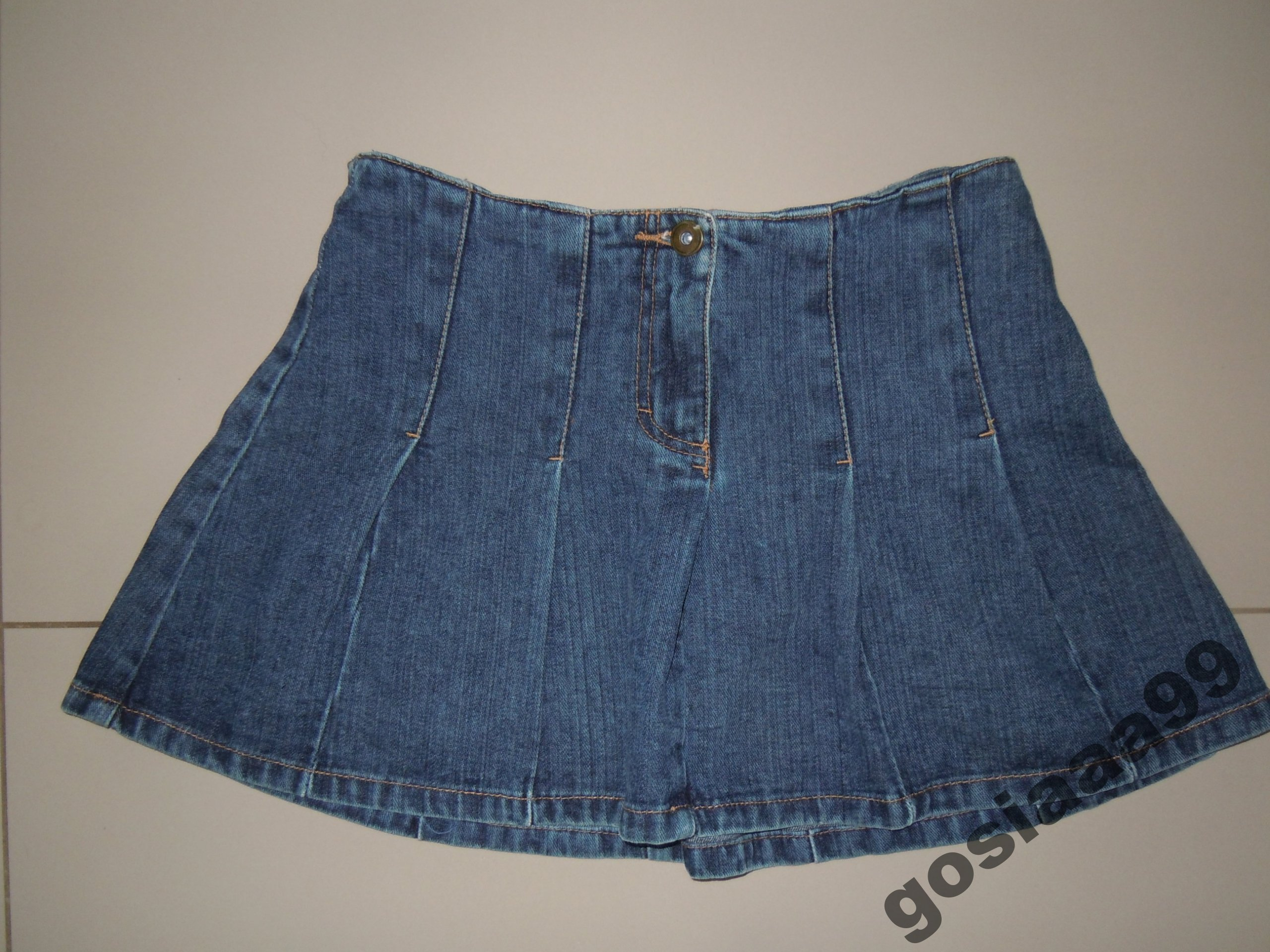 e7ac4c98 H&M jeansowa spódniczka r.XS BDB - 7567039982 - oficjalne archiwum ...