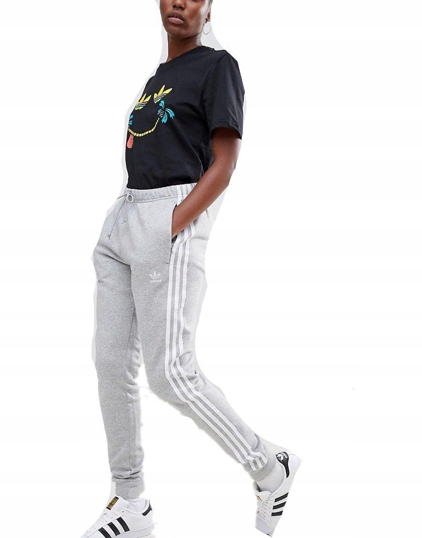 Spodnie sportowe dresy treningowe Adidas r. 34(XS) Zdjęcie