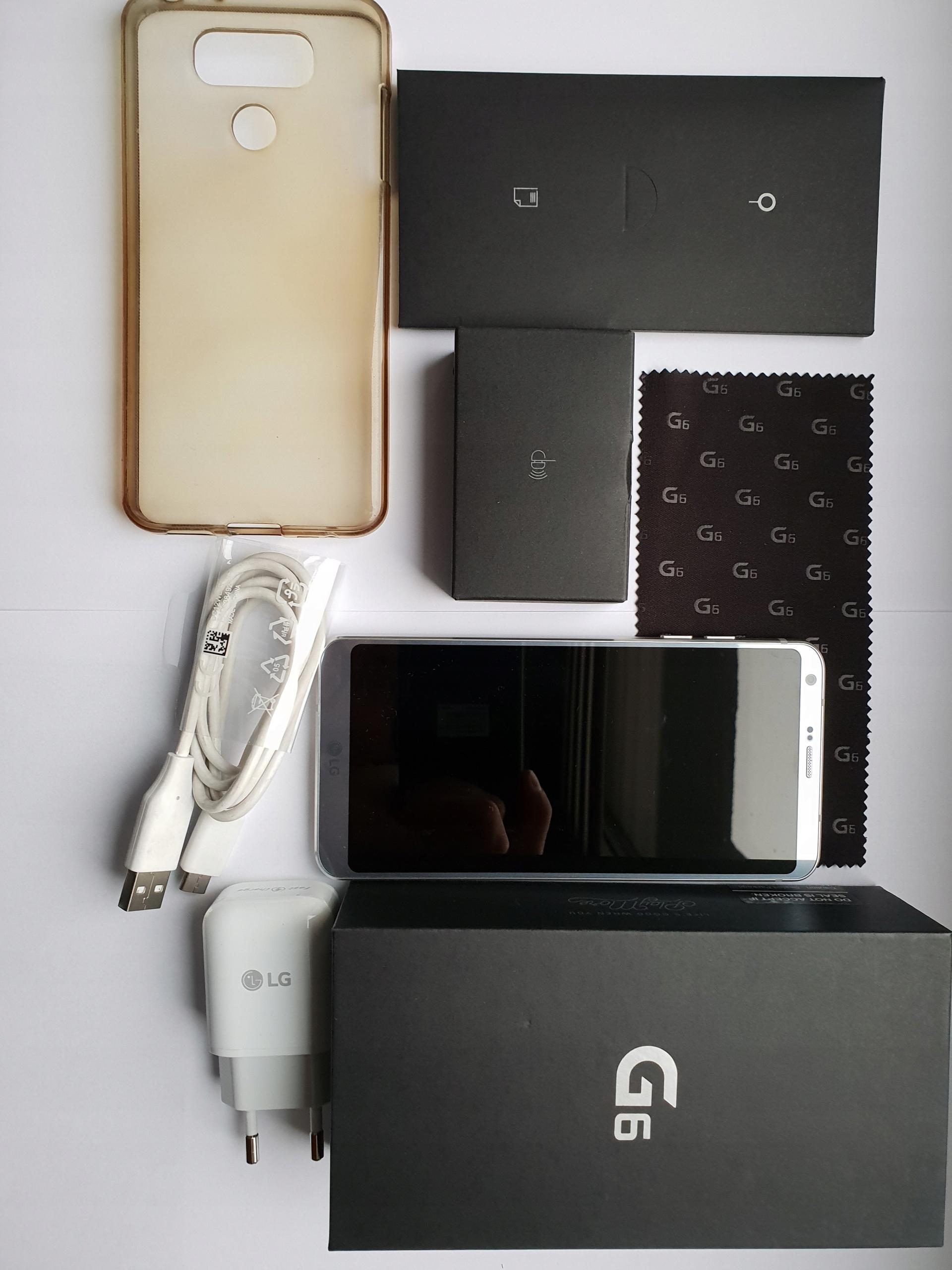 LG G6 Idealny Gwarancja do 7-12-2019 Bez sim lock