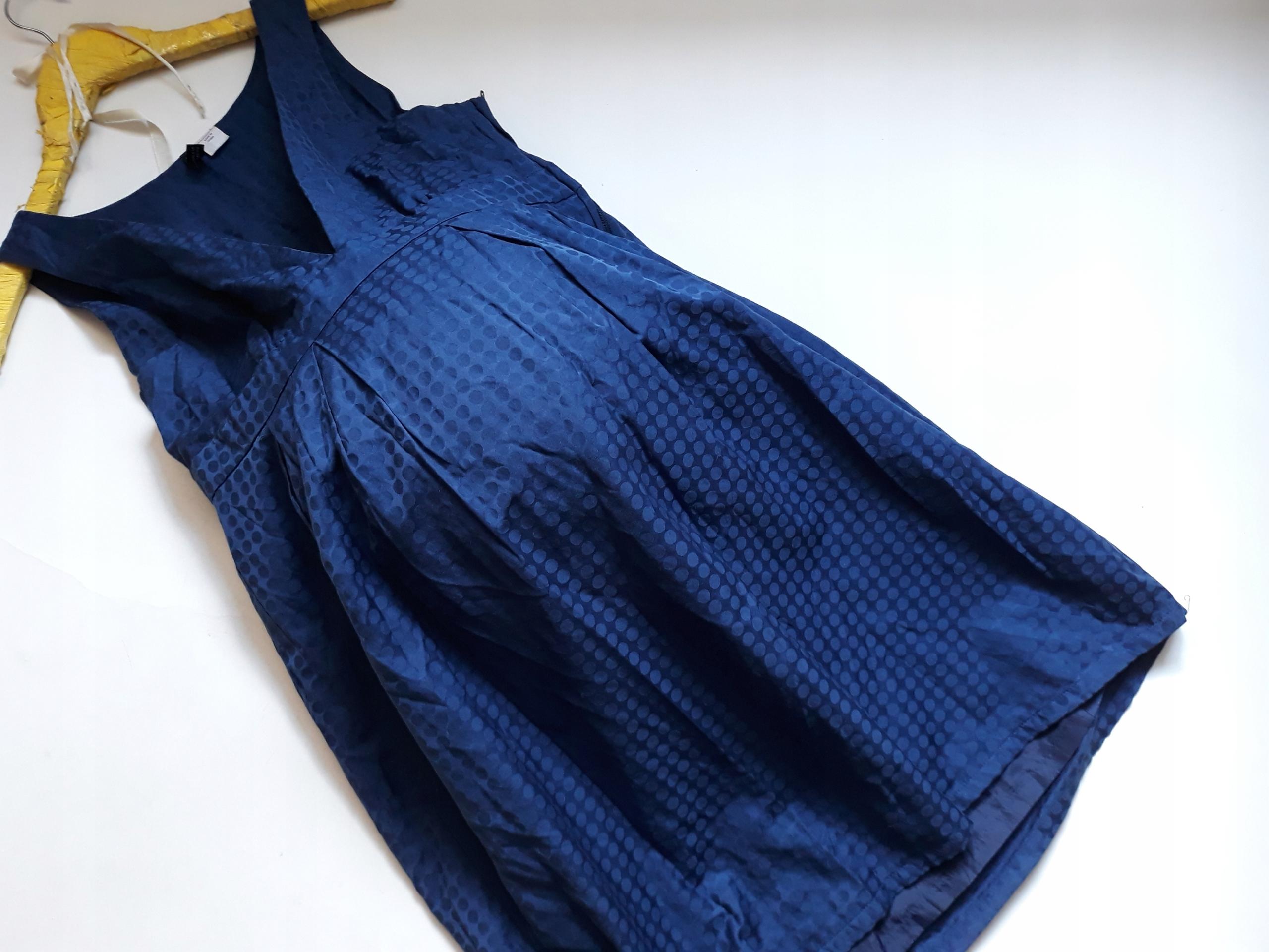 ea6de5d8a3 H M   42   Sukienka ciążowa we wzory     - 7451323837 - oficjalne ...