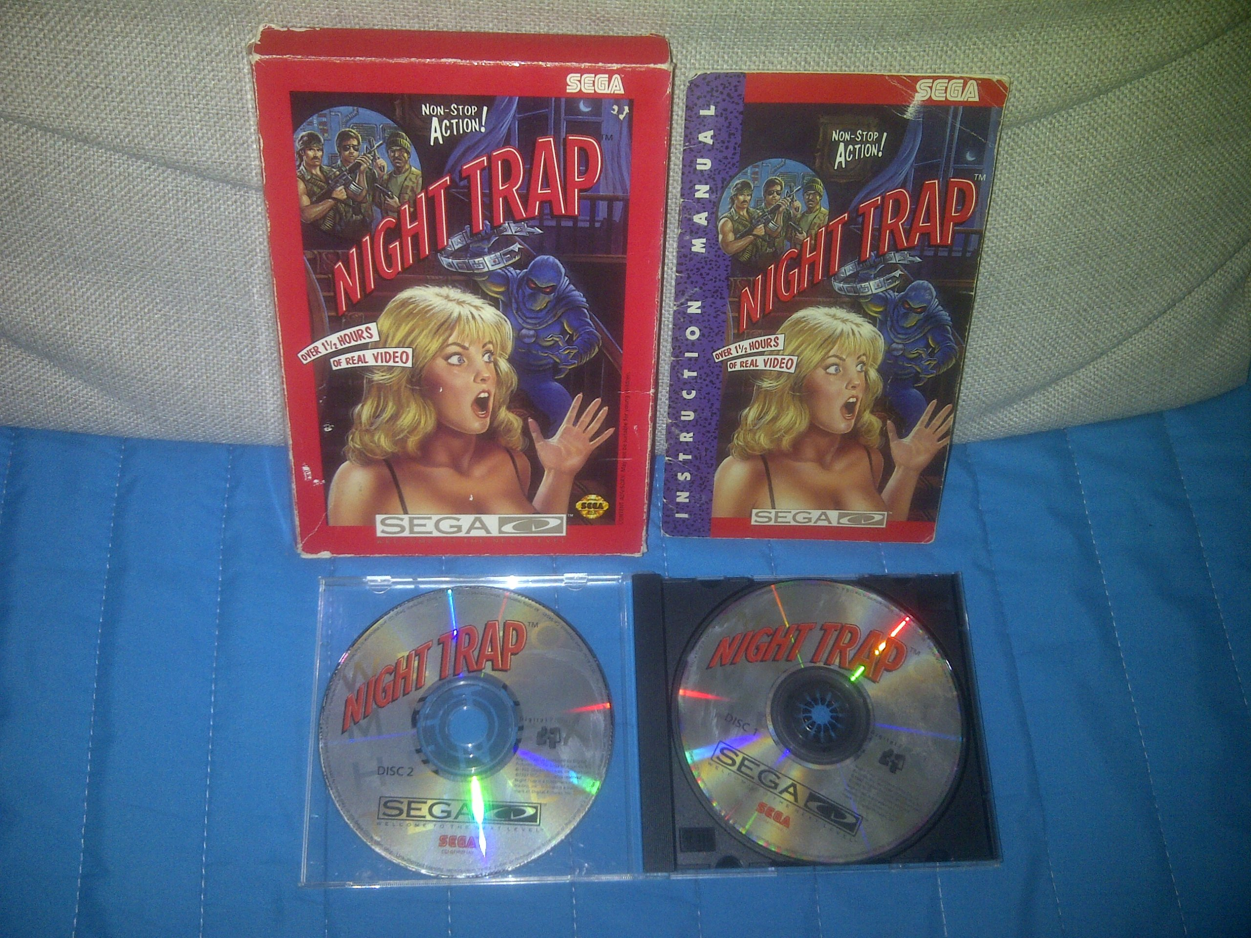 Night Trap / Sega CD / NTSC-USA / CartoonBox - 7681141876