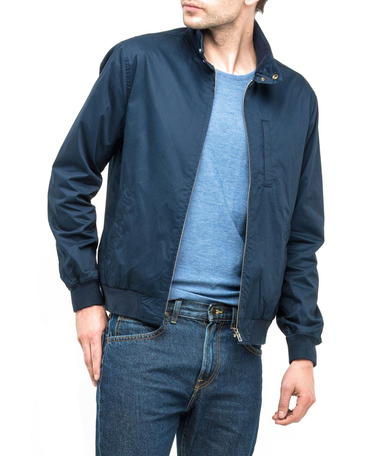 cbbd6cdad9abc Lee HARRINGTON JACKET L86ITOEE Navy Drop XL - 7355275117 - oficjalne ...