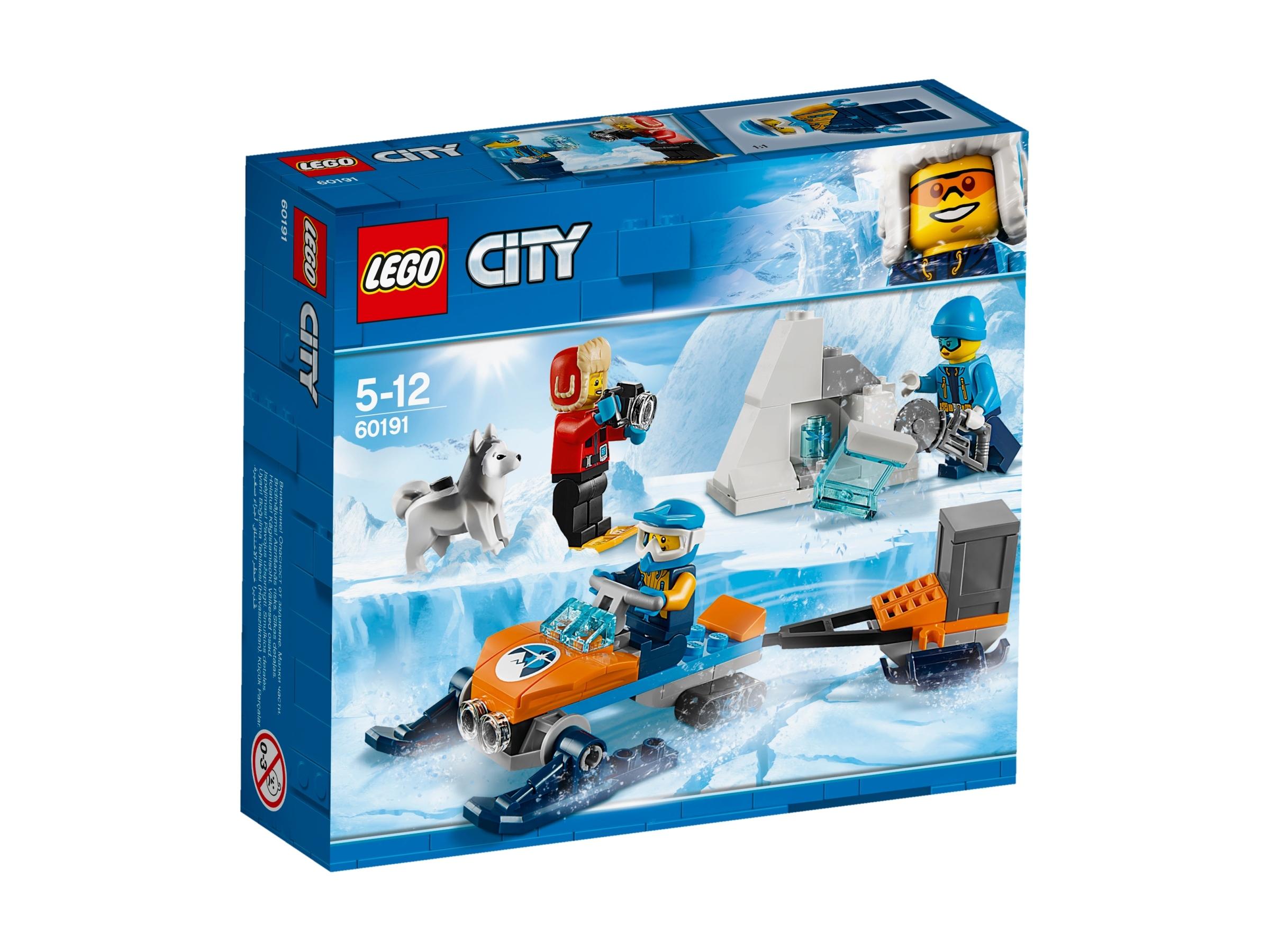 Lego City 60191 Arktyczny Zespół Badawczy 7511689805 Oficjalne