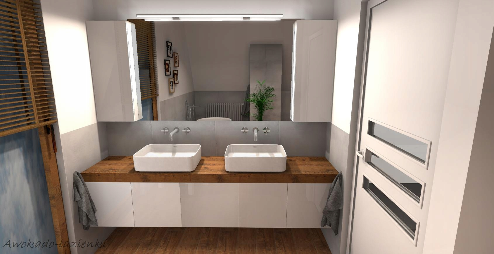 Projekt łazienki Wizualizacja 3danimacja Gratis