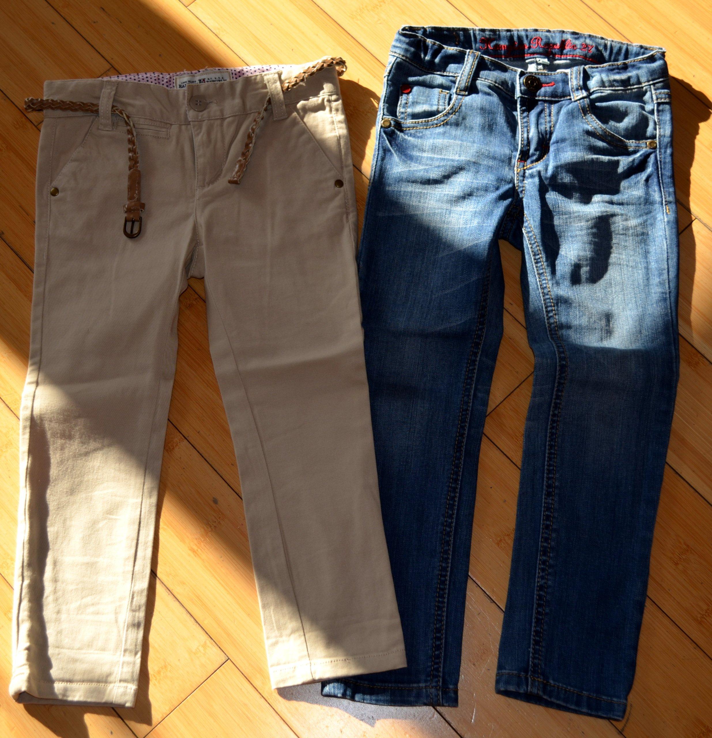 Spodnie Kappahl rozmiar 104 / 2x + jeansy