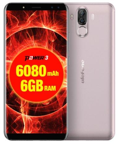 NOWY ULEFONE POWER 3 6/64GB 6080mAh LTE zPL GW GO