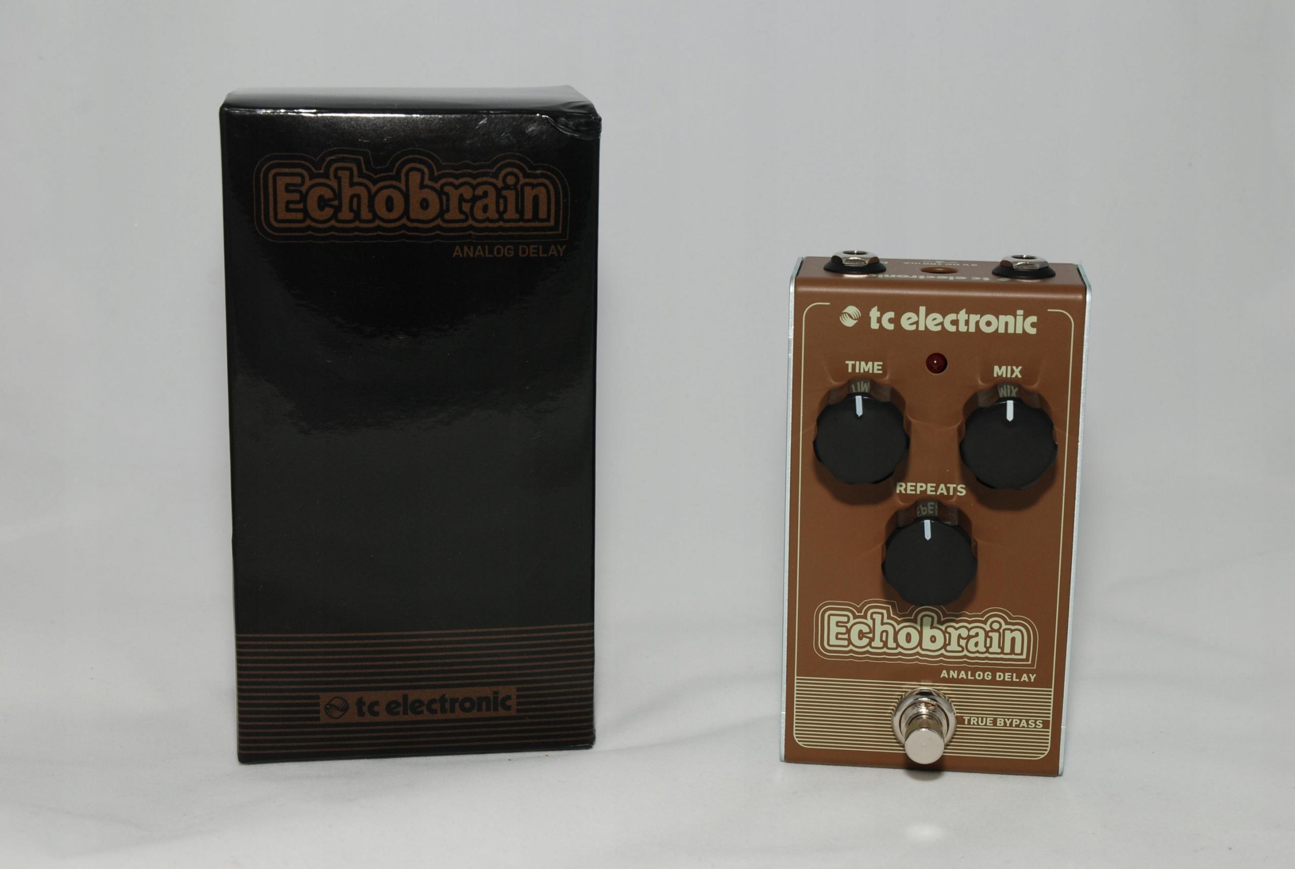 TC ELECTRONIC Echobrain Analog Delay IDEALNY! GWAR