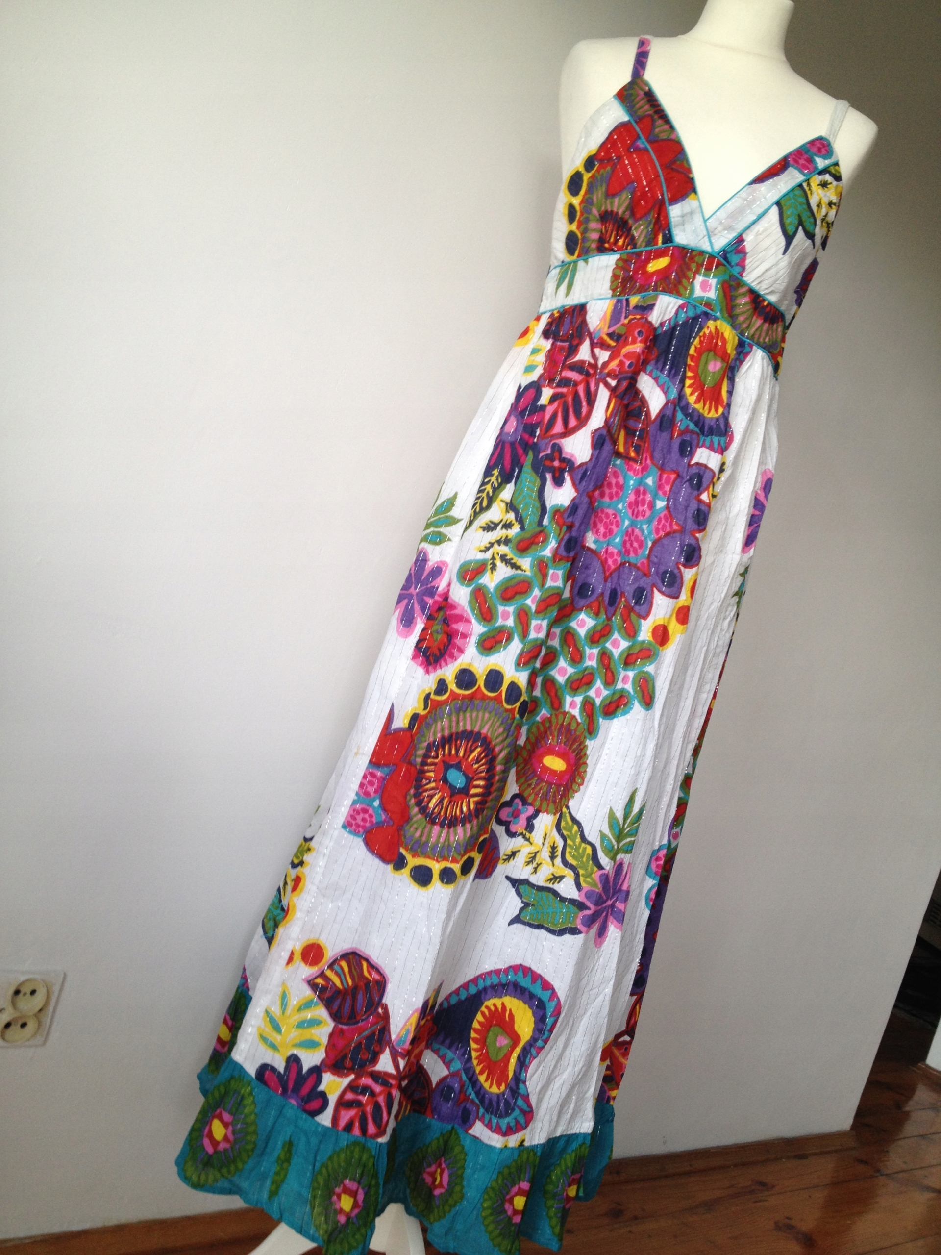 55594d9f26 DESIGUAL - piękna sukienka NA LATO długa - 42 (XL) - 7453724091 ...