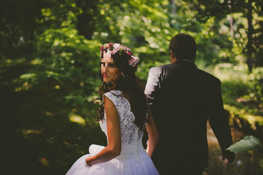 Suknia ślubna Xs Od Profesjonalnej Krawcowej 7195593343