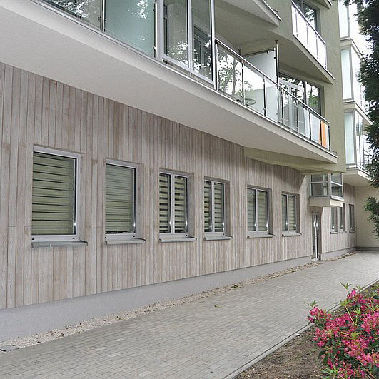 Imitacja Drewna Mur Pruski Drewno Na Elewacji 7220352931