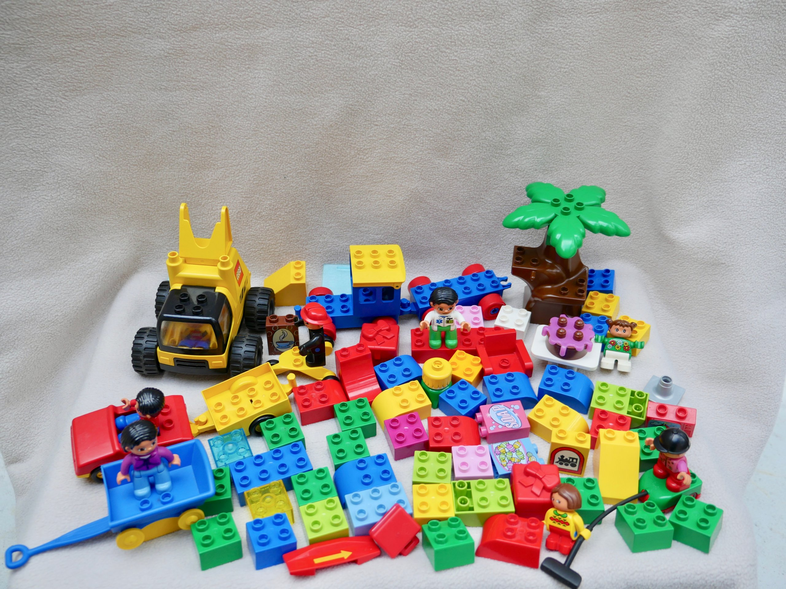 Lego Duplo Zestaw Klocków Auta Ludziki Okazja 7095486791