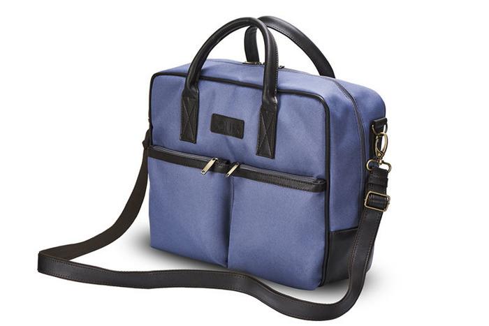 a443c79e6ce46 CIDRO Męska torba na ramię na laptopa niebieska - 7062552873 - oficjalne  archiwum allegro