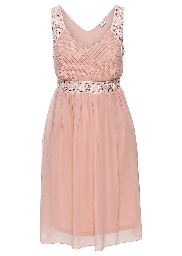 9c4e02c2b9 Sukienka wieczorowa różowy 34 XS 973928 bonprix - 7169012864 ...
