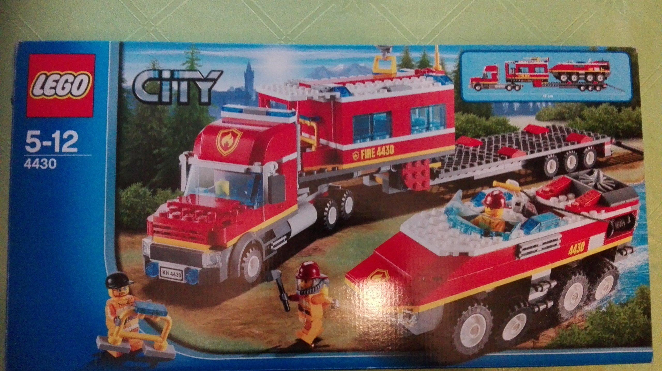 Lego City 4430 Leśna Straż Pożarna 7078215027 Oficjalne Archiwum