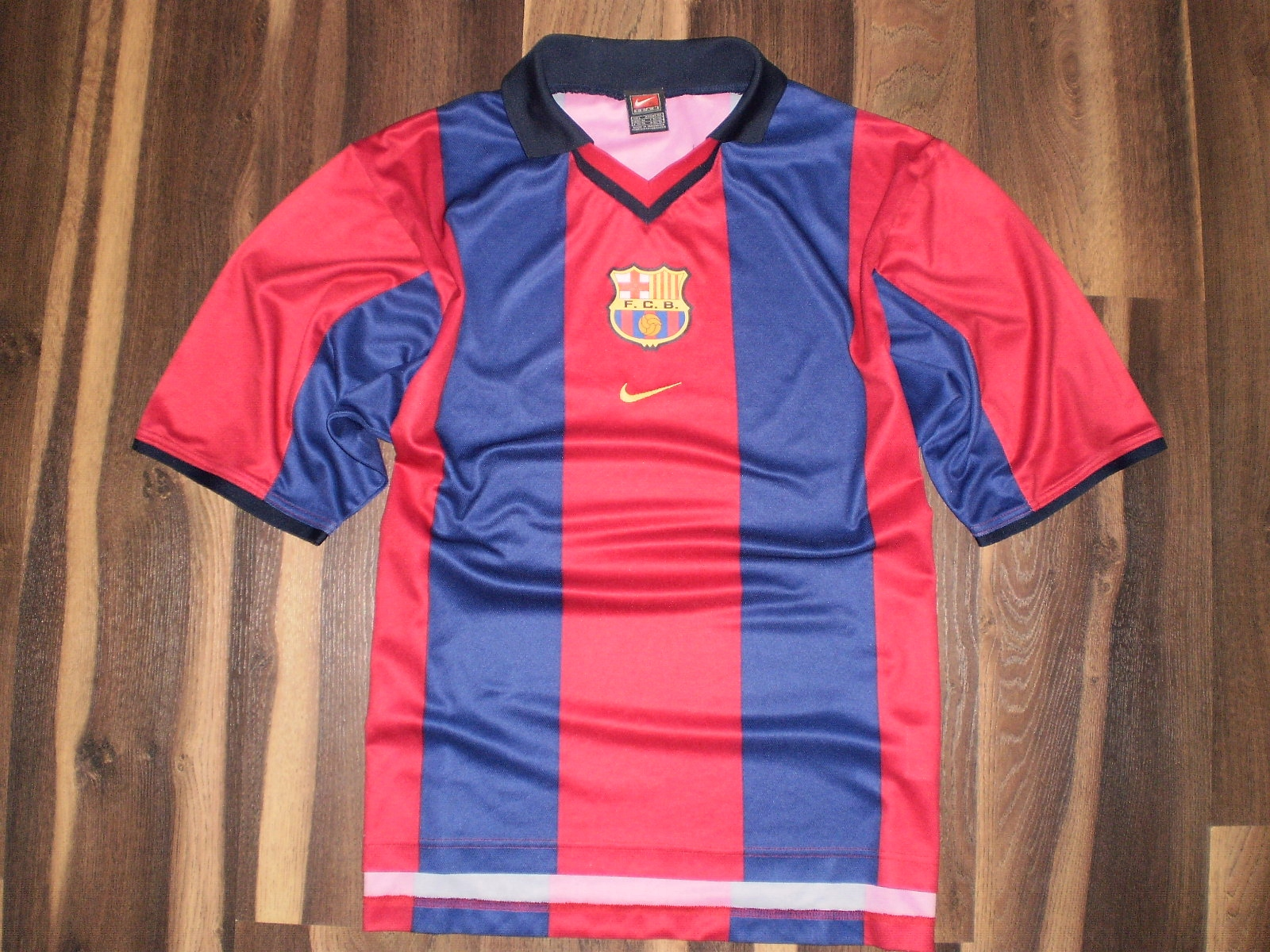 0bba0daca FC BARCELONA ___ Nike *** L - oldschool FCB retro - 7703767292 ...