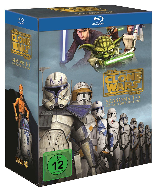 Gwiezdne Wojny: Wojny Klonów Seasons 1-5 14Blu-Ray