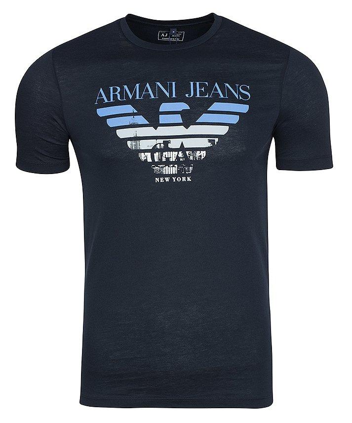 a5ac48b207149 ARMANI JEANS T-SHIRT MESKI WYPRZEDAZ /XL - 7079890062 - oficjalne ...