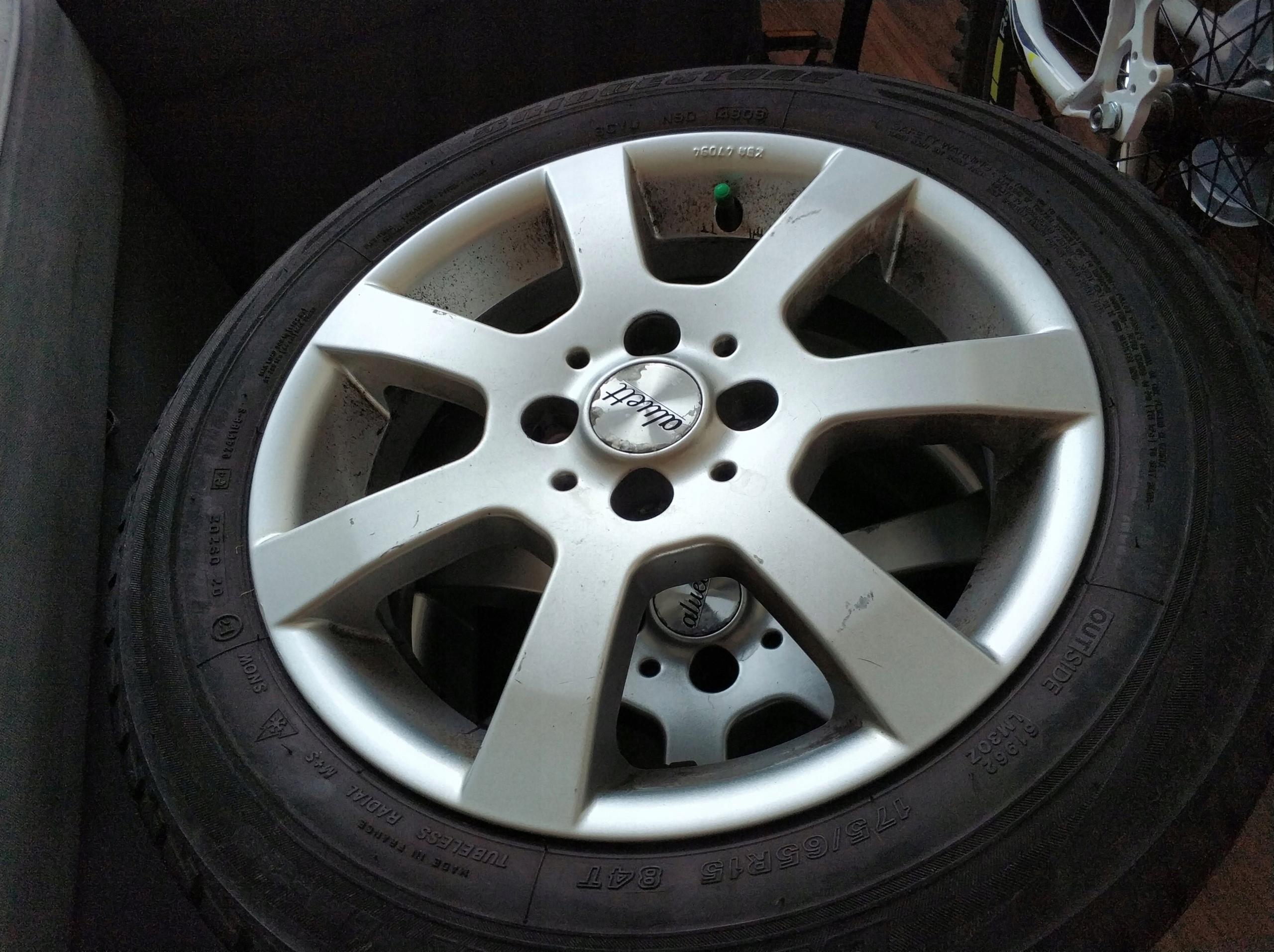 Alufelgi Oraz Opony Zimowe Continental Bridgestone 7560499096